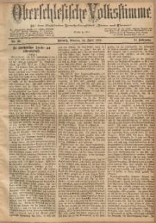 Oberschlesische Volksstimme, 1885, Jg. 11, Nr. 44