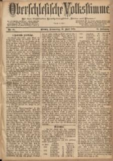 Oberschlesische Volksstimme, 1885, Jg. 11, Nr. 45