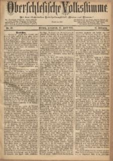 Oberschlesische Volksstimme, 1885, Jg. 11, Nr. 49