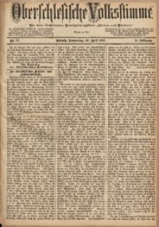 Oberschlesische Volksstimme, 1885, Jg. 11, Nr. 51