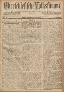 Oberschlesische Volksstimme, 1885, Jg. 11, Nr. 58
