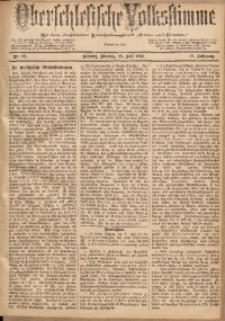 Oberschlesische Volksstimme, 1885, Jg. 11, Nr. 88