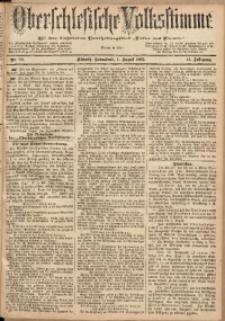 Oberschlesische Volksstimme, 1885, Jg. 11, Nr. 90
