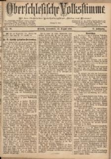 Oberschlesische Volksstimme, 1885, Jg. 11, Nr. 96