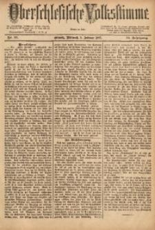 Oberschlesische Volksstimme, 1887, Jg.13, Nr. 31