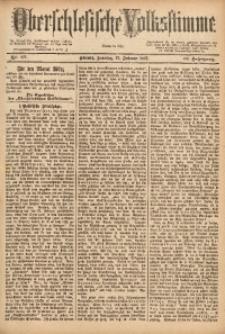 Oberschlesische Volksstimme, 1887, Jg.13, Nr. 47