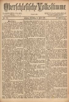 Oberschlesische Volksstimme, 1887, Jg. 13, Nr. 83