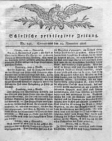 Schlesische Privilegirte Zeitung, 1806, No. 141