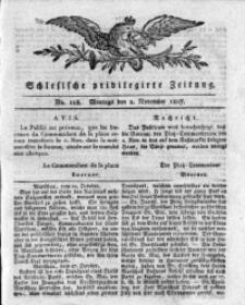 Schlesische Privilegirte Zeitung, 1807, No. 128