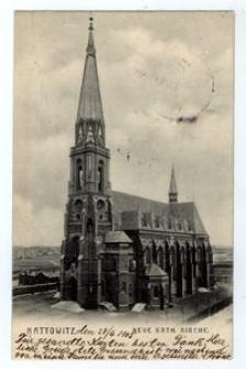 Kattowitz. Neue Kath. Kirche