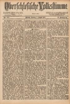 Oberschlesische Volksstimme, 1887, Jg. 13, Nr. 178
