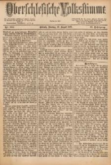 Oberschlesische Volksstimme, 1887, Jg. 13, Nr. 190