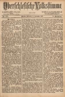 Oberschlesische Volksstimme, 1887, Jg. 13, Nr. 209