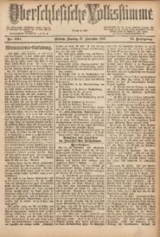 Oberschlesische Volksstimme, 1887, Jg. 13, Nr. 220