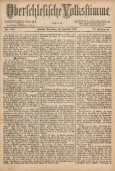 Oberschlesische Volksstimme, 1887, Jg. 13, Nr. 222