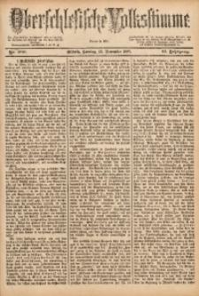 Oberschlesische Volksstimme, 1887, Jg. 13, Nr. 260