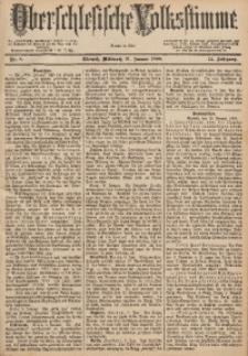 Oberschlesische Volksstimme, 1888, Jg. 14, Nr. 8