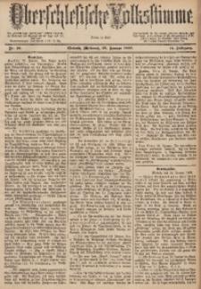 Oberschlesische Volksstimme, 1888, Jg. 14, Nr. 20