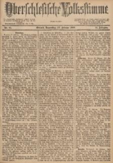 Oberschlesische Volksstimme, 1888, Jg. 14, Nr. 44