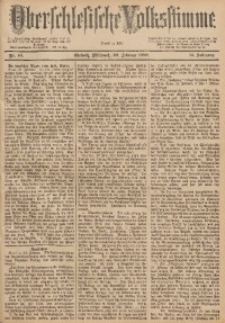 Oberschlesische Volksstimme, 1888, Jg. 14, Nr. 49