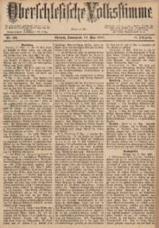 Oberschlesische Volksstimme, 1888, Jg. 14, Nr. 114