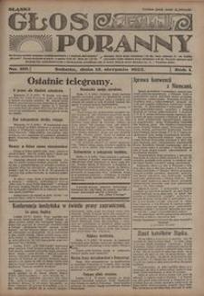 Głos Poranny, 1922, R. 1, nr 110