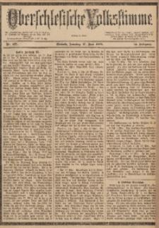 Oberschlesische Volksstimme, 1888, Jg. 14, Nr. 137
