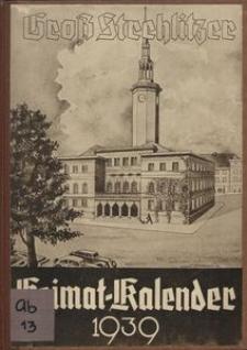 Gross Strehlitzer Heimat-Kalender, 1939