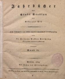 Die Jahrbücher der Stadt Breslau, 1815, Bd. 2, St. 26