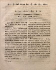Die Jahrbücher der Stadt Breslau, 1815, Bd. 2, St. 48