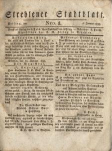Strehlener Stadtblatt, 1835, Nro. 3