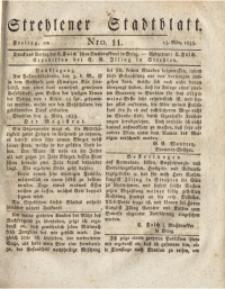 Strehlener Stadtblatt, 1835, Nro. 11