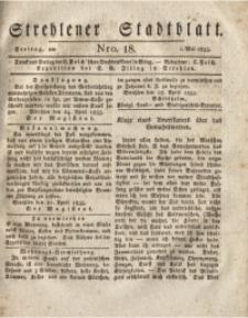Strehlener Stadtblatt, 1835, Nro. 18