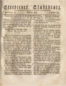 Strehlener Stadtblatt, 1835, Nro. 41