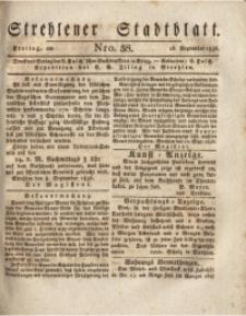 Strehlener Stadtblatt, 1836, Nro. 38