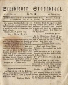 Strehlener Stadtblatt, 1837, Nro. 3