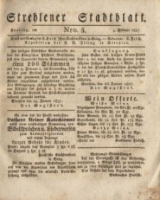 Strehlener Stadtblatt, 1837, Nro. 5