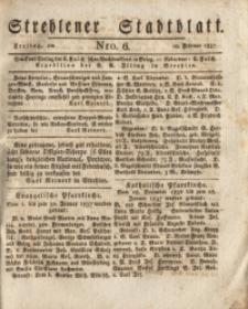 Strehlener Stadtblatt, 1837, Nro. 6