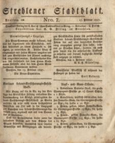 Strehlener Stadtblatt, 1837, Nro. 7