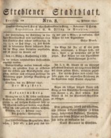 Strehlener Stadtblatt, 1837, Nro. 8