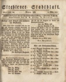 Strehlener Stadtblatt, 1837, Nro. 10