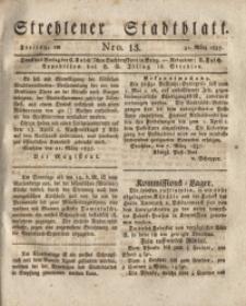 Strehlener Stadtblatt, 1837, Nro. 13