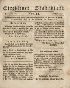 Strehlener Stadtblatt, 1837, Nro. 14