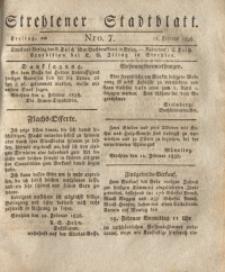 Strehlener Stadtblatt, 1838, Nro. 7