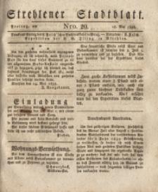 Strehlener Stadtblatt, 1838, Nro. 20