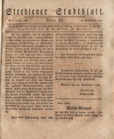 Strehlener Stadtblatt, 1838, Nro. 39