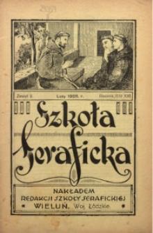 Szkoła Seraficka, 1928, R. 3, Z. 2