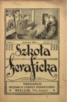 Szkoła Seraficka, 1928, R. 3, Z. 4