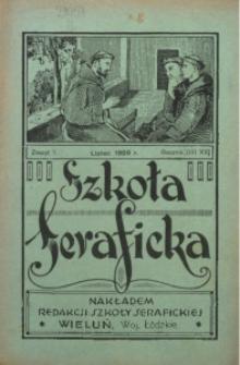 Szkoła Seraficka, 1928, R. 3, Z. 7