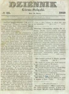 Dziennik Górno-Szlązki, 1849, nr 83